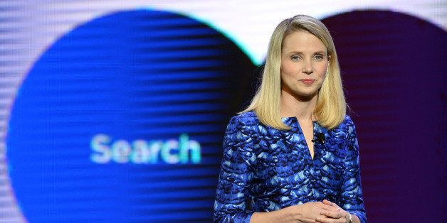 LAS VEGAS, NV - JANUARY 07:  Yahoo! President and CEO Marissa Mayer delivers a keynote address at the 2014 International CES