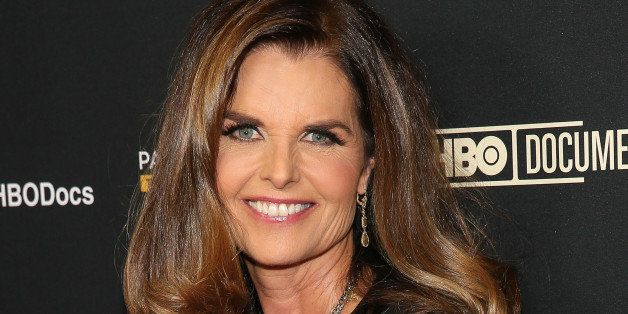 HOLLYWOOD, CA - MARCH 10:  Journalist/author Maria Shriver attends the premiere of HBO Documentary Films' 'Paycheck To Payche