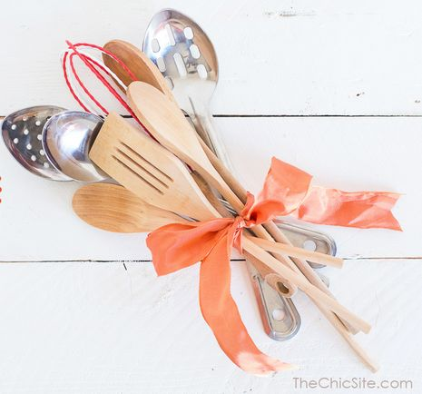 Whip up this adorable bundle of kitchen tools for a mom who loves to cook. Just make sure she knows that Mother's Day is stil