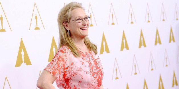 BEVERLY HILLS, CA - FEBRUARY 10:  Actress Meryl Streep attends the 86th Academy Awards nominee luncheon at The Beverly Hilton
