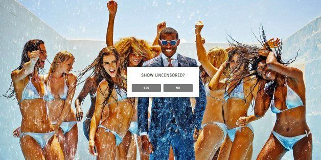 This 'Suit Supply' Ad Campaign Is So Sexist, It Seems To