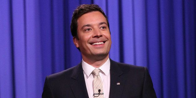 THE TONIGHT SHOW STARRING JIMMY FALLON -- Episode 0041 -- Pictured: Host Jimmy Fallon on April 21, 2014 -- (Photo by: Nathani