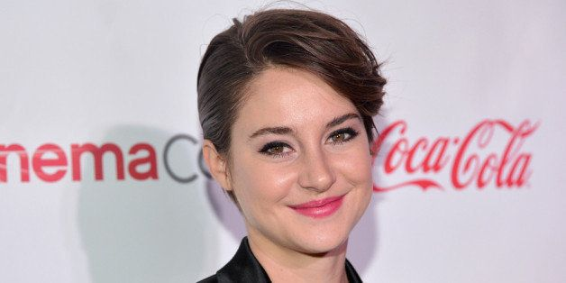 LAS VEGAS, NV - MARCH 27:  Female Star of Tomorrow award winner actress Shailene Woodley attends The CinemaCon Big Screen Ach