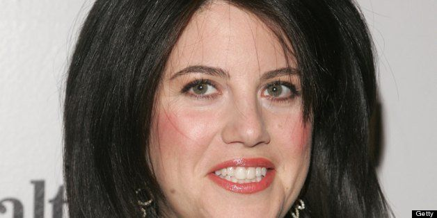 NEW YORK - DECEMBER 5:  Monica Lewinsky attends the Men's Health & Best Life exhibition for photographer Nigel Parry to celeb
