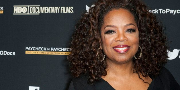 HOLLYWOOD, CA - MARCH 10:  Oprah Winfrey attends the premiere of HBO Documentary Films' 'Paycheck To Paycheck' at the Linwood