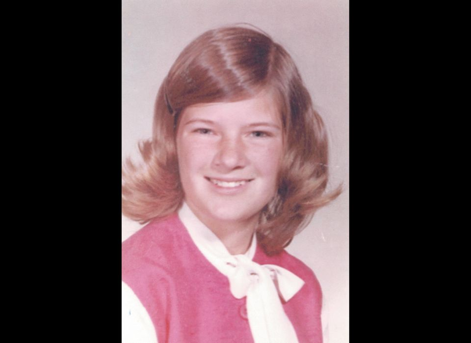 Sally in junior high school, the same age as the girls her company Sally Ride Science would later target. 