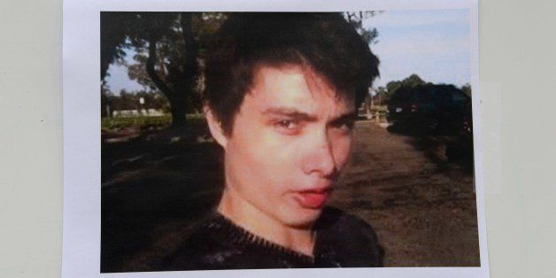 An undated photo of murder suspect Elliot Rodger is seen at a press conference by the Santa Barbara County Sheriff in Goleta,