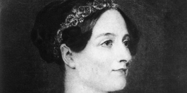 circa 1840:  Augusta Ada, Countess Lovelace, (nee Byron) (1815 - 1852) 1st wife of William King the first earl. She was the d