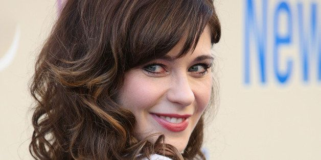 LOS ANGELES, CA - MAY 08:  Actress Zooey Deschanel attends the 'New Girl' Season 3 Finale Screening and cast Q&A at Zanuck Th