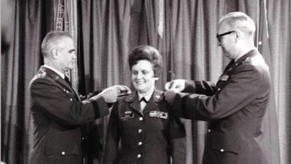Anna Mae Hays joined the Army Nurse Corps in 1942 to serve her country during World War II -- but that was just the beginning