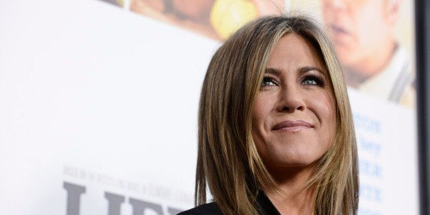 "Actress Jennifer Aniston attends the premiere of the feature film ""Life of Crime"" at the ArcLight Hollywood on Wednesday, Aug"
