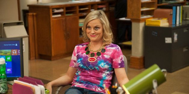 PARKS AND RECREATION -- 'The Wall' Episode 615 -- Pictured: Amy Poehler as Leslie Knope -- (Photo by: Colleen Hayes/NBC/NBCU