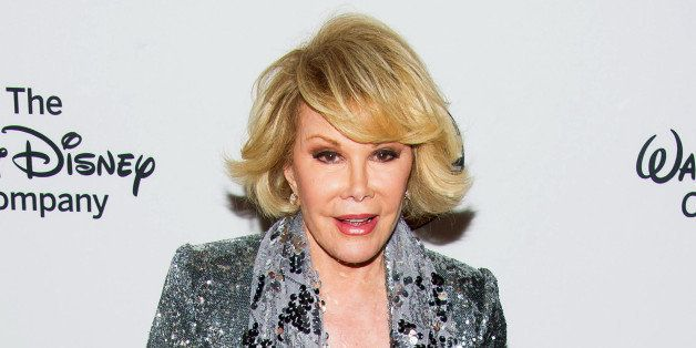 FILE - In this May 14, 2014 file photo, TV personality Joan Rivers attends A Celebration of Barbara Walters in New York. The