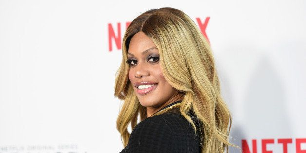 LOS ANGELES, CA - AUGUST 04:  Actress Laverne Cox attends Netflix's 'Orange is the New Black' panel discussion at Directors G