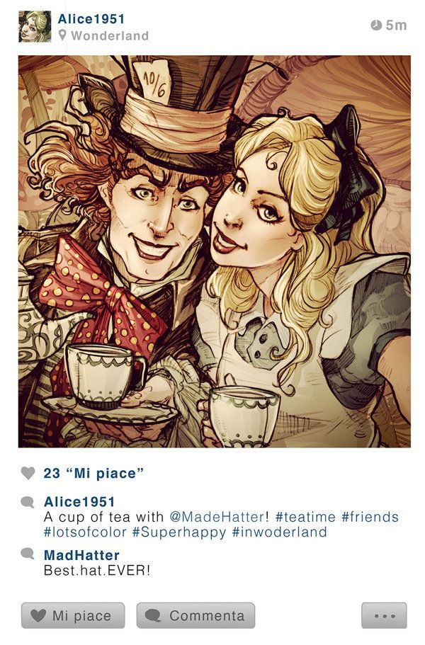 If These Disney Characters Had Instagram They Would Be As Enchanted