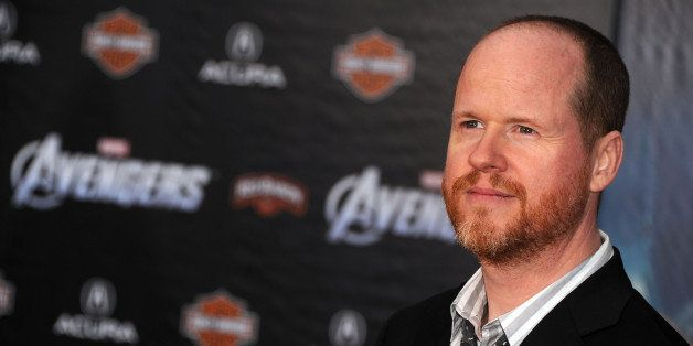 HOLLYWOOD, CA - APRIL 11:  Writer/director Joss Whedon arrives at the premiere of Marvel Studios' 'The Avengers' at the El Ca