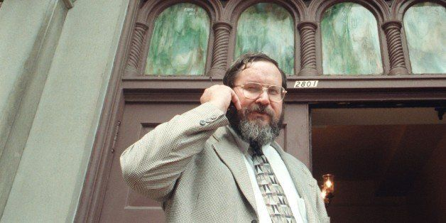 WASHINGTON, DC - AUGUST 08: FILE, Rabbi Barry Freundel at Kesher Israel Congregation in Georgetown is taking and making a num