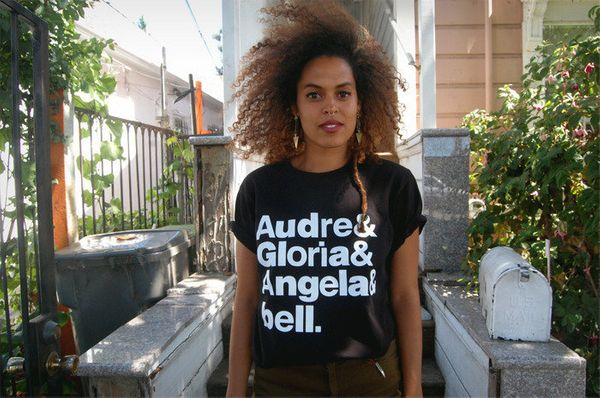 "Get the <a href=""http://thugzmaison.bigcartel.com/product/the-goddesses-shirt"" target=""_blank"">Audre & Gloria & Angela & bell"