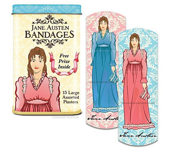 """Get <a href=""""http://www.incrediblethings.com/entertainment/jane-austen-bandages-because-reading-is-dangerous/"""" target=""""_blank"""