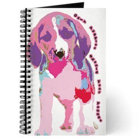 "<a href=""http://www.cafepress.com/+only_puppies_should_fear_poun_journal,215639304"" target=""_blank"">""Only Puppies Should Fear"
