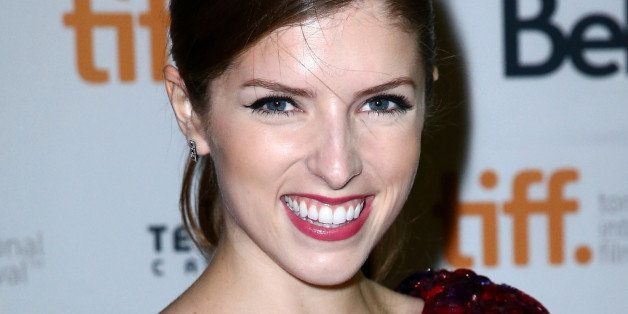 TORONTO, ON - SEPTEMBER 11:  Actress Anna Kendrick attends 'The Voices' premiere during the 2014 Toronto International Film F