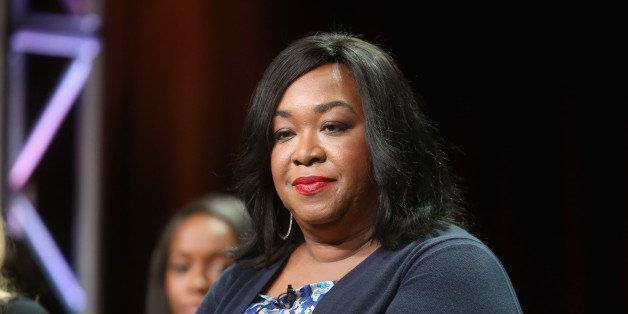 BEVERLY HILLS, CA - JULY 15:  Executive producer Shonda Rhimes speaks onstage at the 'How To Get Away With Murder'' panel dur