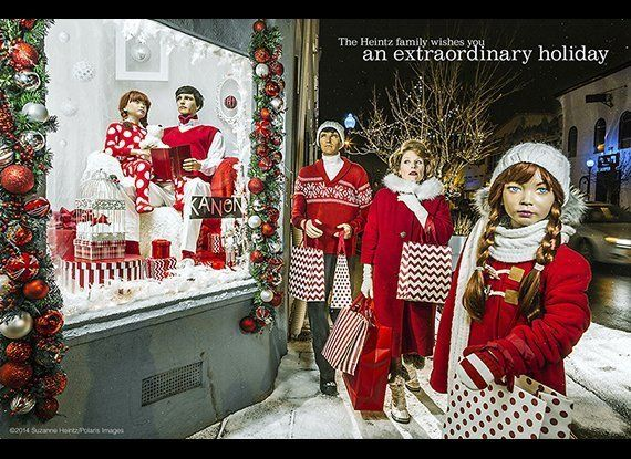 December 14, 2014 - Denver, Colorado, USA: For her annual holiday photo greeting, American Conceptual Photographer, Suzanne H