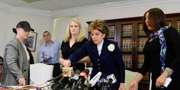 LOS ANGELES, CA - JANUARY 07: Three alleged victims of sexual abuse by comedian Bill Cosby using the assumed name Lynn Neal (