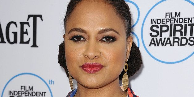 WEST HOLLYWOOD, CA - JANUARY 10:  Director Ava DuVernay attends the 2015 Film Independent filmmaker grant and Spirit Awards n