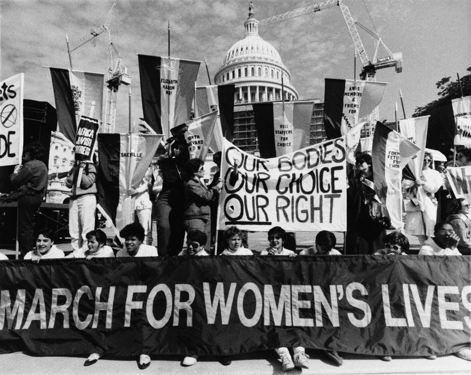 <strong>1992:</strong> March For Women's Lives in Washington, D.C.
