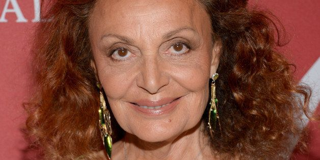 "Diane von Furstenberg attends Fashion Group International's 31st Annual ""Night of Stars"" at Cipriani Wall Street on Thursday,"