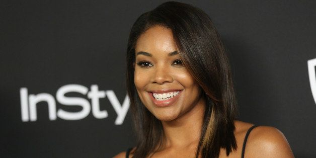 Gabrielle Union arrives at the 16th annual InStyle and Warner Bros. Golden Globes afterparty at the Beverly Hilton Hotel on S