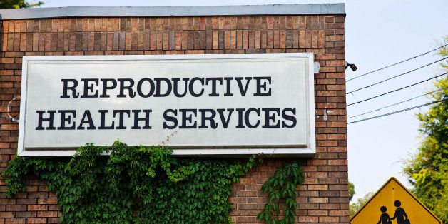 In this Wednesday, July 30, 2014 photo, Reproductive Health Services is shown, in Montgomery, Ala. Reproductive Health Servic