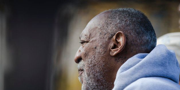 Entertainer and Navy veteran Bill Cosby at a Veterans Day ceremony, Tuesday, Nov. 11, 2014, at the The All Wars Memorial to C