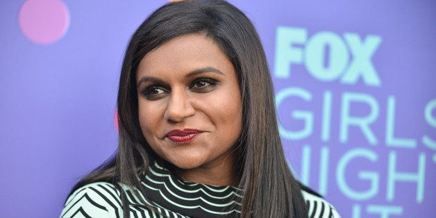 Mindy Kaling arrives at the Fox's Girls Night Out held at the Leonard H. Goldenson Theatre on Monday, June 9, 2014 in Los Ang
