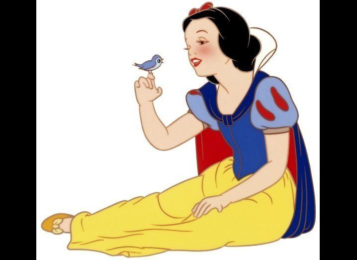 """<strong>Virtues:</strong> She's the """"fairest one of all,"""" but she's quite the humble young princess. She loves forest animals"""