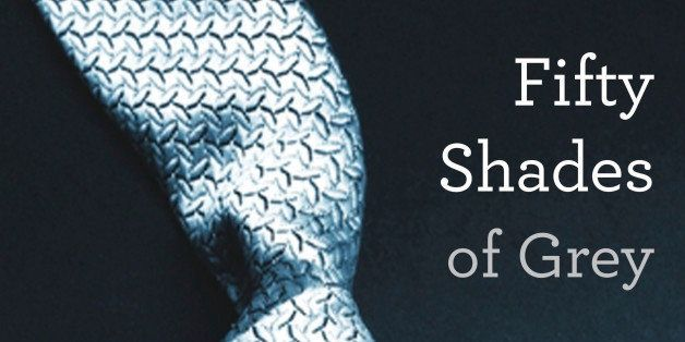 "This book cover image provided by Vintage Books shows ""Fifty Shades of Grey,"" by E L James. They're young and old, doctors an"