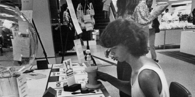 JUN 18 1974, JUN 20 1974; Record And Aid Are Aims Of Monopoly Game; Arvada High School students Debbie Kidd, 15, of 6627 Otis