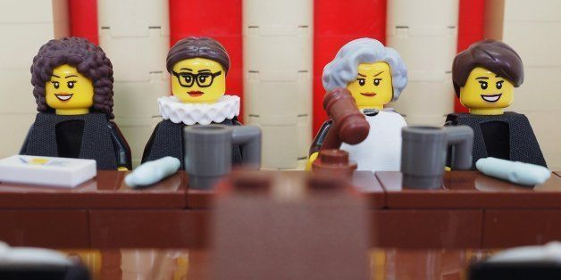 The LEGO Legal Justice League Is A Thing, And It Includes Ruth Bader