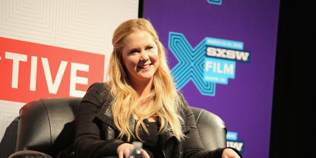 AUSTIN, TX - MARCH 16:  Comedian Amy Schumer speaks onstage at 'A Conversation With Amy Schumer' during the 2015 SXSW Music,