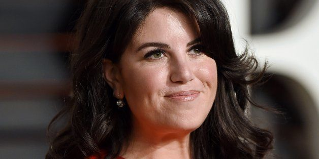 BEVERLY HILLS, CA - FEBRUARY 22:  Monica Lewinsky arrives at the 2015 Vanity Fair Oscar Party Hosted By Graydon Carter at Wal