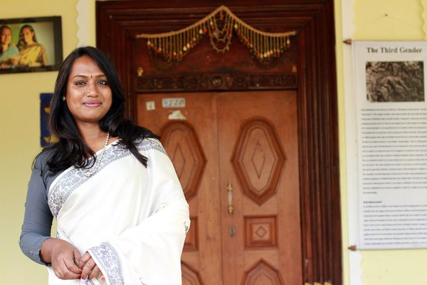 """The first transgender woman to star in a major film in 2011, Tamilian actress, writer, filmmaker <a href=""""https://www.faceboo"""