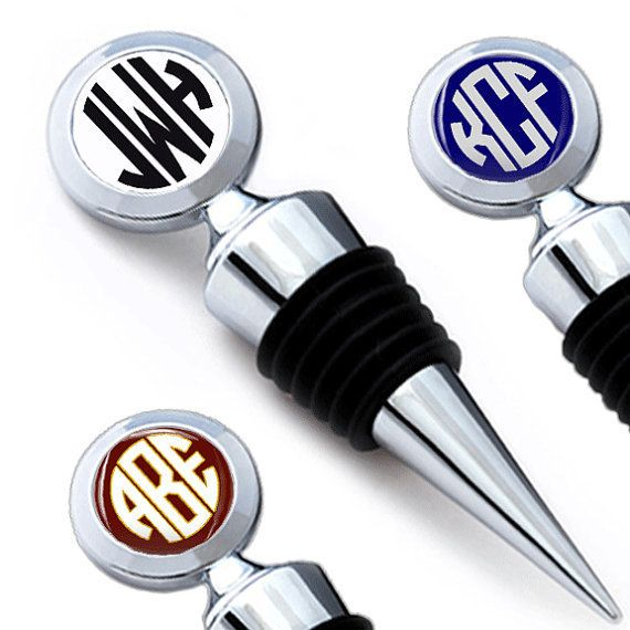 "<a href=""https://www.etsy.com/listing/217938089/monogram-circle-wine-stopper-wine-lover?ref=sr_gallery_20&ga_search_query=mon"