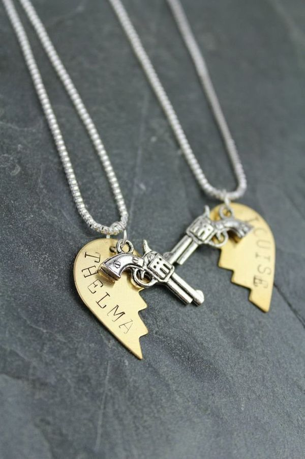 "<a href=""http://www.bourbonandboots.com/store/products/thelma-louise-friendship-necklaces/"" target=""_blank"">Bourbon and Boots"