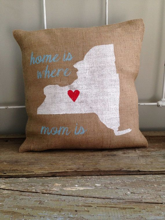 "<a href=""https://www.etsy.com/listing/152241524/burlap-pillow-home-is-where-mom-is?ref=sr_gallery_5&ga_search_query=mom&ga_se"