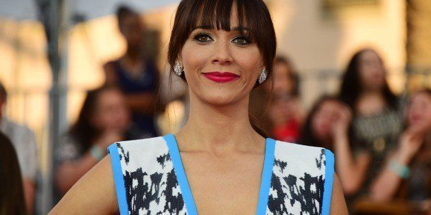 Actress Rashida Jones arrives for the 21st Annual Screen Actors Guild Awards, January 25, 2015 at the Shrine Auditorium in Lo