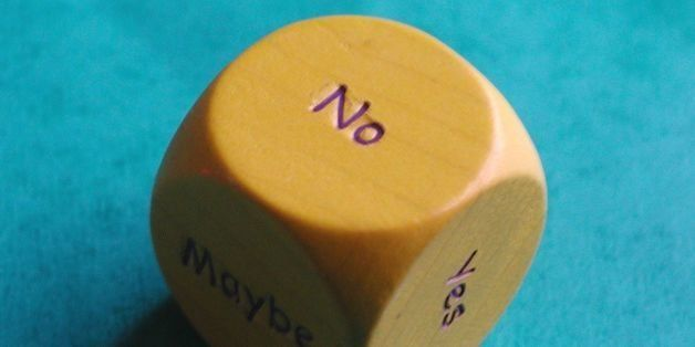 or should it be 'decision dice'?  but the dice say no.