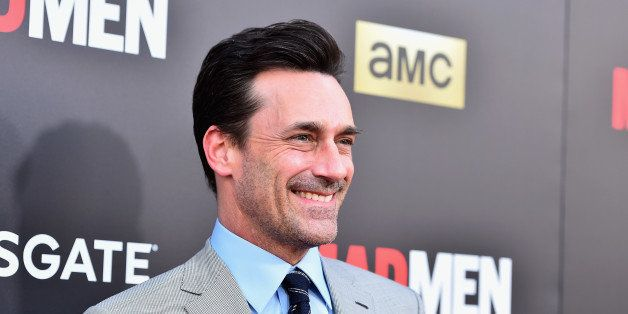 LOS ANGELES, CA - MAY 17:  Actor Jon Hamm attends AMC, Film Independent and Lionsgate Present 'Mad Men' Live Read at The Thea