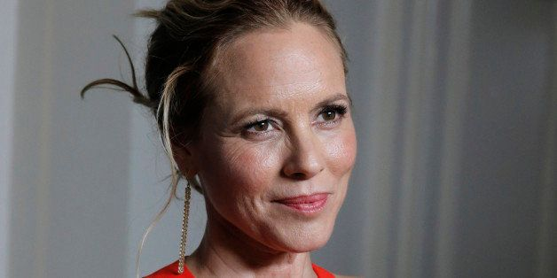 Maria Bello arrives at unite4:good at the 2014 Variety Power Of Women at the Beverly Wilshire Four Seasons Hotel on Friday, O