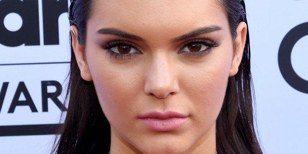 LAS VEGAS, NV - MAY 17:  Model Kendall Jenner, wearing Balmain x H&M, attends the 2015 Billboard Music Awards at MGM Grand Ga